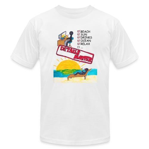 Details Matter Beach Edition - Men's Fine Jersey T-Shirt