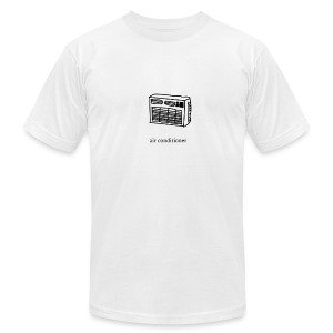 air conditioner - Men's Fine Jersey T-Shirt