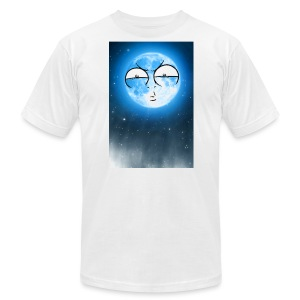 BLUE MOON UP - Men's Fine Jersey T-Shirt