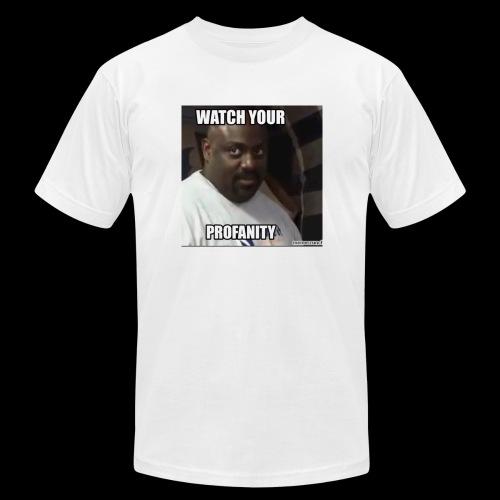 Watch Your Profanity - Men's Fine Jersey T-Shirt