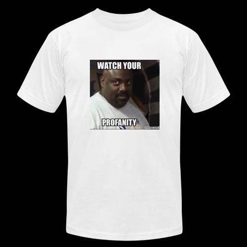 Watch Your Profanity - Men's  Jersey T-Shirt
