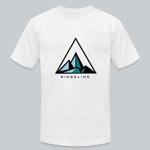 ridgeline aqua - Men's Fine Jersey T-Shirt