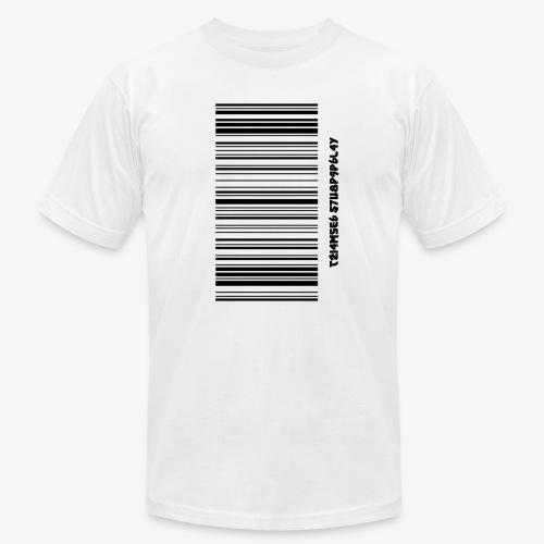 Time Supply - Barcode T-Shirt - Men's Fine Jersey T-Shirt