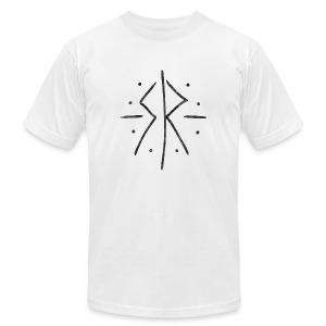 Sun Kissed Kid Black Logo - Men's Fine Jersey T-Shirt