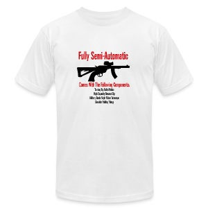 Fully Semi-Automatic - Men's Fine Jersey T-Shirt