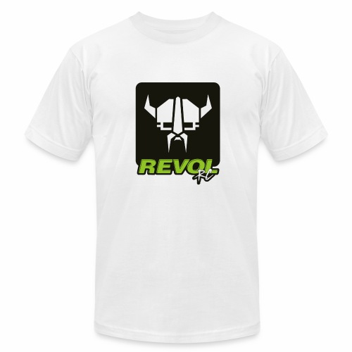 RevolRC Viking White on Black - Men's Fine Jersey T-Shirt