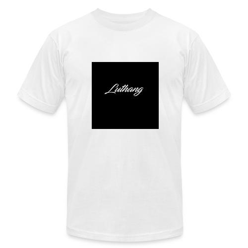 Luthang logo - Men's Fine Jersey T-Shirt