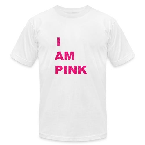 I AM PINK - Men's Fine Jersey T-Shirt