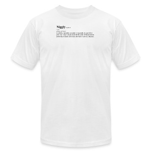 niggly definition tee - Men's Fine Jersey T-Shirt