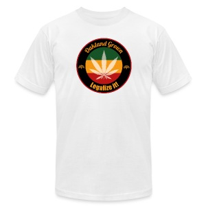 Oakland Grown Cannabis 420 Wear - Men's T-Shirt by American Apparel