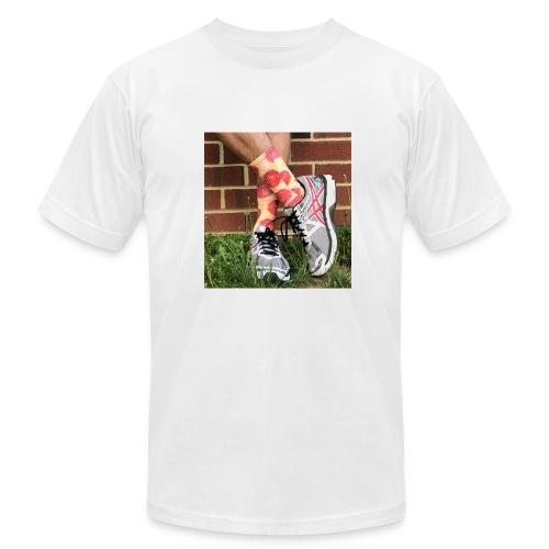 Pizza socks - Men's Fine Jersey T-Shirt