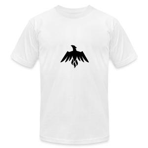 Black INTZ Logo - Men's Fine Jersey T-Shirt