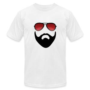 Beard and shades - Men's Fine Jersey T-Shirt