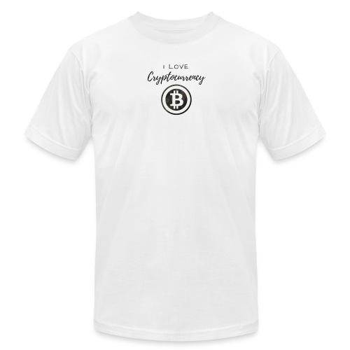 I love Crypto - Men's Fine Jersey T-Shirt