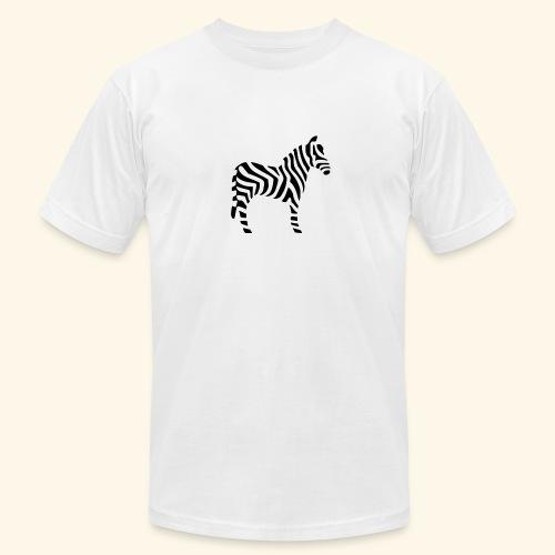 Zebra T - Men's Fine Jersey T-Shirt