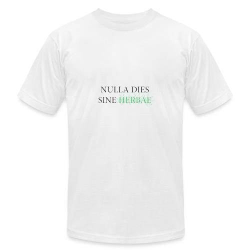 Nulla dies sine herbae - Men's Fine Jersey T-Shirt