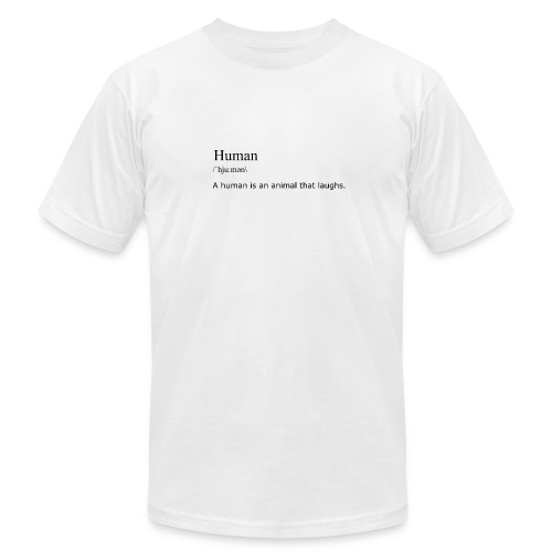 Human, By Definition - Men's Fine Jersey T-Shirt