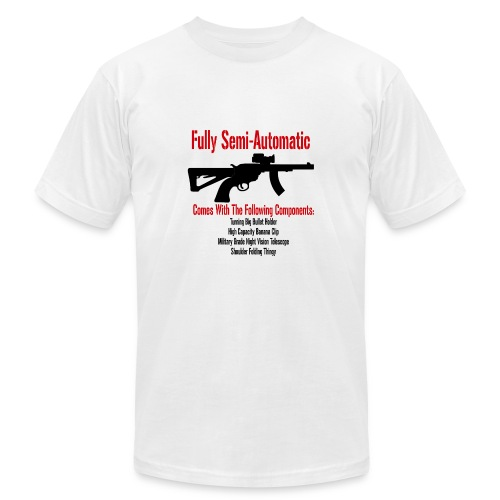Fully Semi-Automatic - Men's Fine Jersey T-Shirt