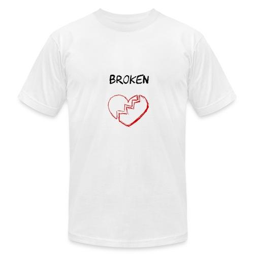 Broken Mixtape - Men's Fine Jersey T-Shirt