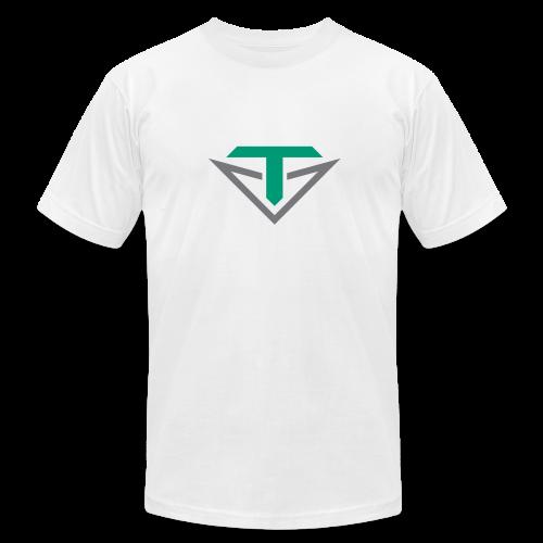Toulon Golf Logo Shirt - Men's Fine Jersey T-Shirt