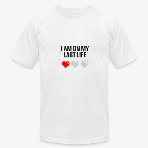 Last Life - Light - Men's Fine Jersey T-Shirt