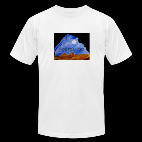 The Spinning Sky by KetaMind - Men's Fine Jersey T-Shirt