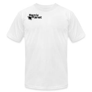 RemixPlanet Black Logo - Men's Fine Jersey T-Shirt