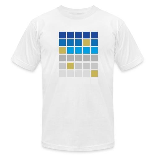 Futuristic Grid - Men's Fine Jersey T-Shirt