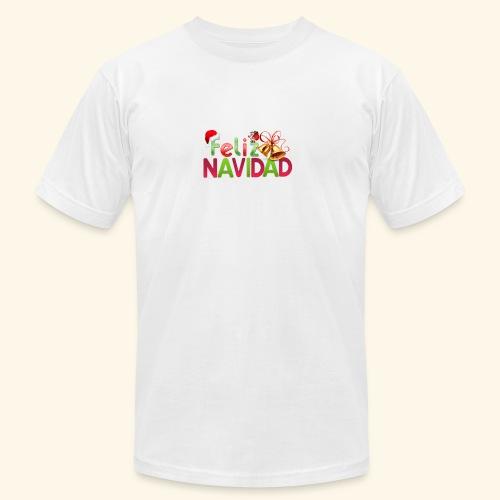 feliz navidad merch - Men's  Jersey T-Shirt
