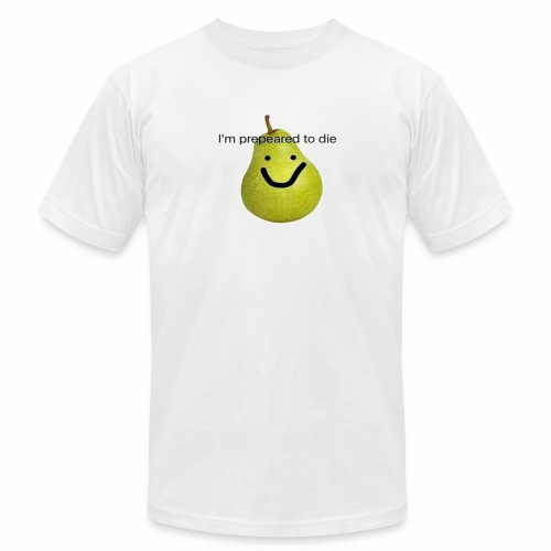 Prepeared to die - Men's Fine Jersey T-Shirt
