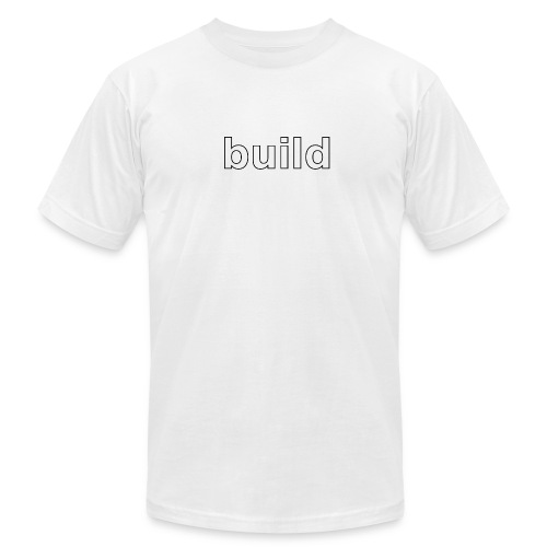 build logo - Men's Fine Jersey T-Shirt