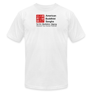 American Buddhist Sangha and Zen Do USA - Men's T-Shirt by American Apparel