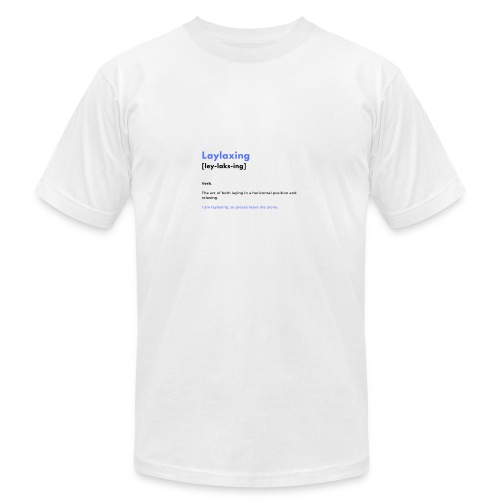 laylaxing blue - Men's Fine Jersey T-Shirt