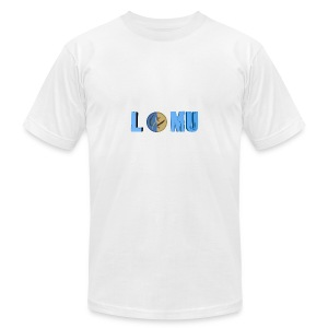 Blue T or CT - Men's Fine Jersey T-Shirt