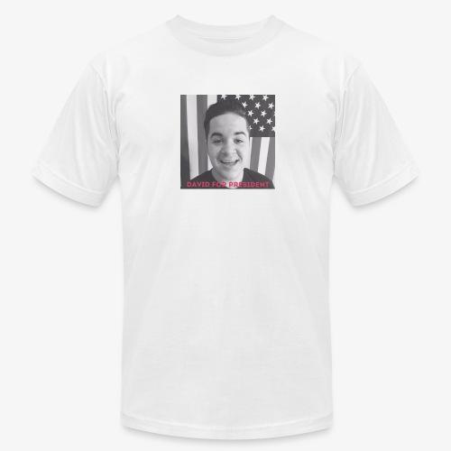DAVID FOR PRESIDENT - Men's Fine Jersey T-Shirt