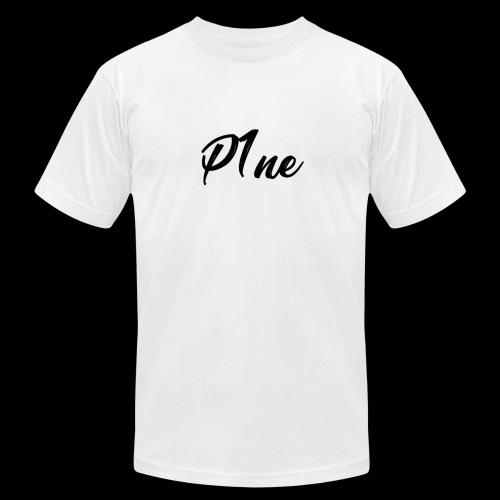 P1neMusic Black - Men's Fine Jersey T-Shirt