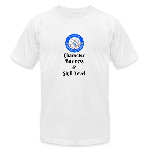 SB Seal Design - Men's Fine Jersey T-Shirt