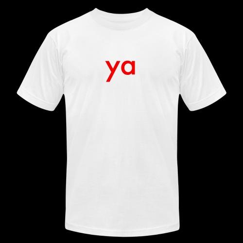 ya - Men's Fine Jersey T-Shirt