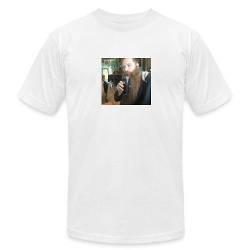 sexy man bearded homo - Men's  Jersey T-Shirt