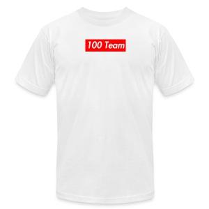 100 Team - Men's Fine Jersey T-Shirt