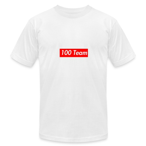 100 Team - Men's Fine Jersey T-Shirt