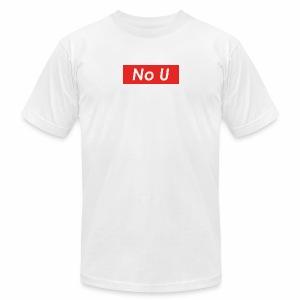 no u - Men's Fine Jersey T-Shirt