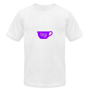 Tea Shirt Simple But Purple - Men's T-Shirt by American Apparel