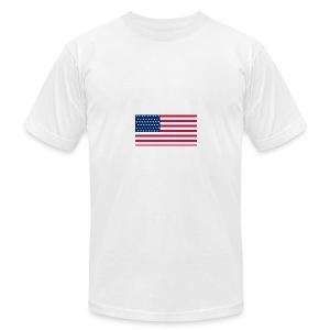 usa flag - Men's Fine Jersey T-Shirt