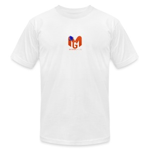 MaddenGamers MG Logo - Men's T-Shirt by American Apparel