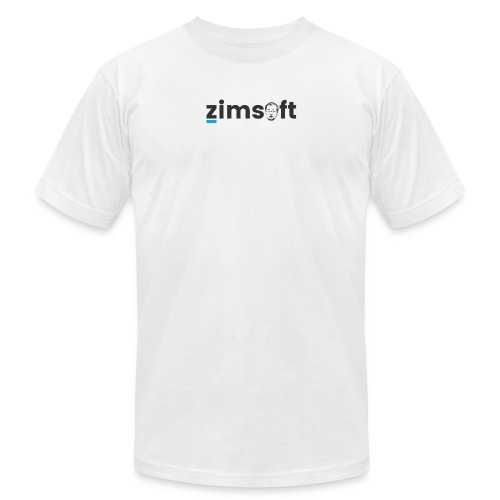 zimsoft dark cropped - Men's Fine Jersey T-Shirt