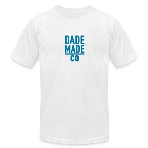 dademadelogoaqua - Men's Fine Jersey T-Shirt