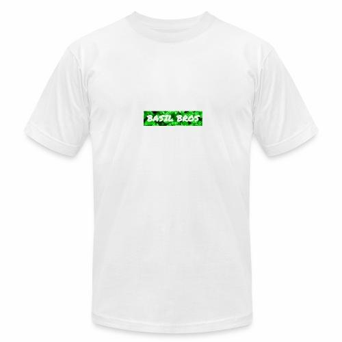 Basil Bros logo - Men's Fine Jersey T-Shirt