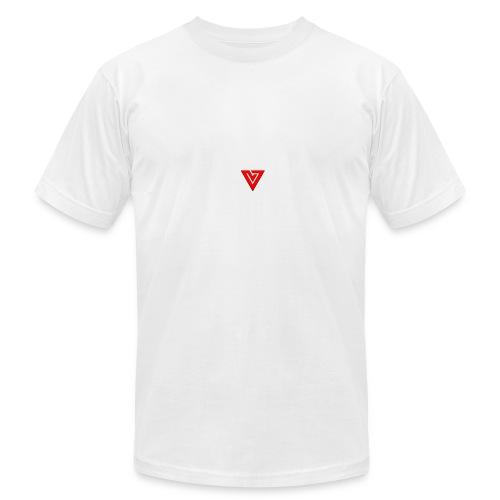 Viibe Epilogue Logo in Red - Men's Fine Jersey T-Shirt