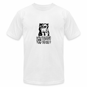 YOU TALKING TO ME ? - Men's Fine Jersey T-Shirt